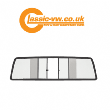 Mk1 Caddy Clear Glass Sliding Rear Window Kit